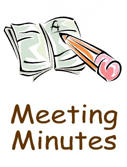 MINUTES OF MEETING and important documents